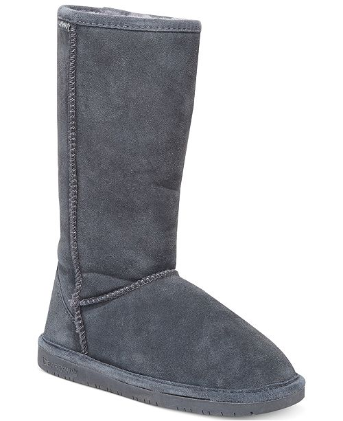 f3738f403d1f BEARPAW Emma Tall Winter Boots   Reviews - Boots - Shoes - Macy s