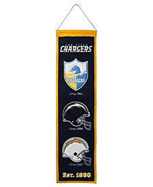 Winning Streak San Diego Chargers Heritage Banner