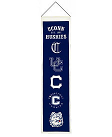 Winning Streak Connecticut Huskies Heritage Banner