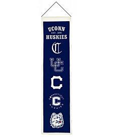 Winning Streak Connecticut Huskies Heritage Banner