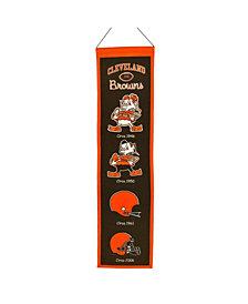 Winning Streak Cleveland Browns Heritage Banner