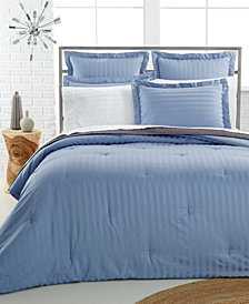 CLOSEOUT! Charter Club Damask Bedding Collection, 500 Thread Count 100% Pima Cotton, Created for Macy's
