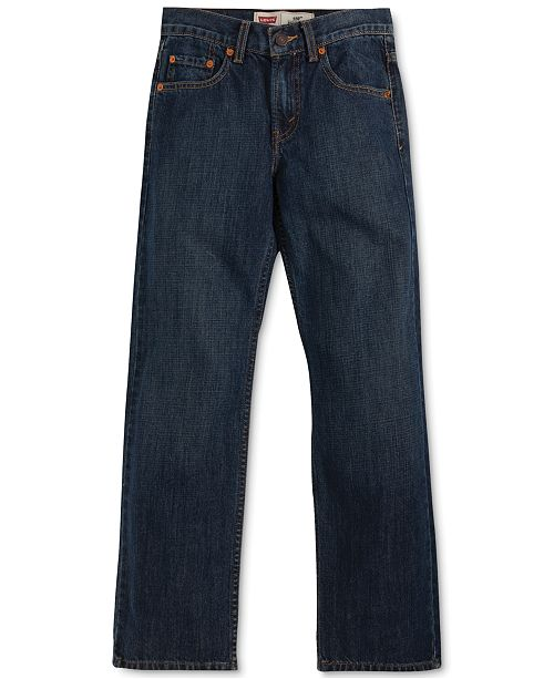 e681f6aed51 Levi's 550™ Relaxed Fit Jeans, Big Boys Husky & Reviews - Jeans ...