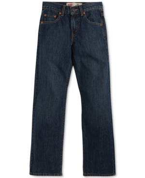 Levis 550 Relaxed Fit Jeans Big Boys Husky (820)