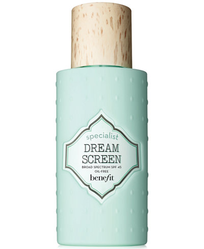 Benefit Cosmetics dream screen SPF 45 invisible silkymatte sunscreen 1.7 oz
