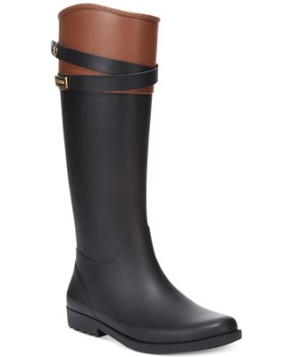 Tommy Hilfiger Women's Coree Tall Rain Boots - Boots - Shoes - Macy's