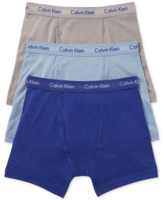 Image of Calvin Klein Men's Cotton Stretch Boxer Briefs 3-Pack NU2666