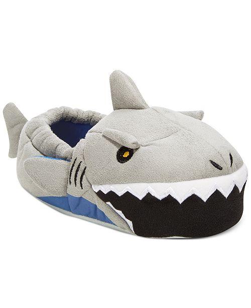 Stride Rite Light Up Shark Slippers Toddler Boys Amp Little