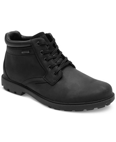 Rockport Men's Rugged Bucs H20 Waterproof Plain Toe Boots