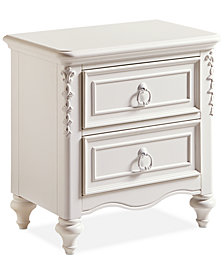Celestial Kid's Nightstand with Power Outlet and Storage