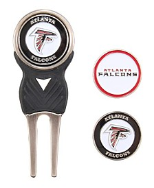 Team Golf Atlanta Falcons Divot Tool and Markers Set