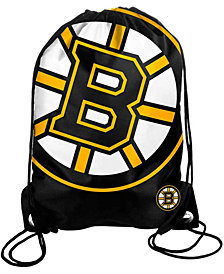 Forever Collectibles Boston Bruins Big Logo Drawstring Bag