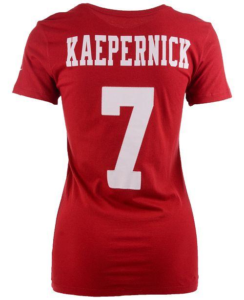 b4223af8c ... Nike Women s Colin Kaepernick San Francisco 49ers Player Pride T-Shirt  ...