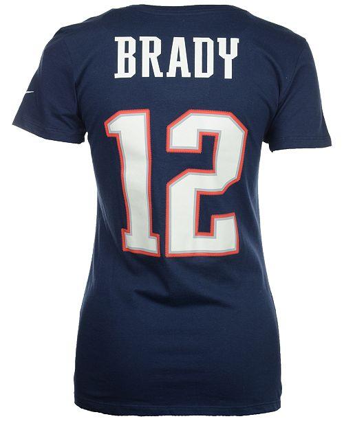 11988cd050 ... Nike Women's Tom Brady New England Patriots Player Pride T-Shirt ...