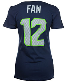 Nike Women's Fan #12 Seattle Seahawks Player Pride T-Shirt