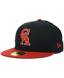 New Era Los Angeles Angels of Anaheim MLB Cooperstown 59FIFTY Cap