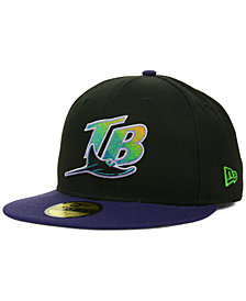 New Era Tampa Bay Rays MLB Cooperstown 59FIFTY Cap
