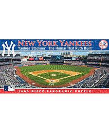 Masterpieces Puzzle Company New York Yankees Panoramic Stadium Puzzle