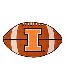 Wincraft Illinois Fighting Illini Football Mat