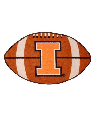 Wincraft Illinois Fighting Illini Football Mat