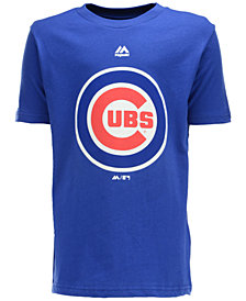 MajesticChicago Cubs Primary Logo T-Shirt