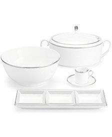 Vera Wang Wedgwood Dinnerware, Grosgrain Espresso Saucer