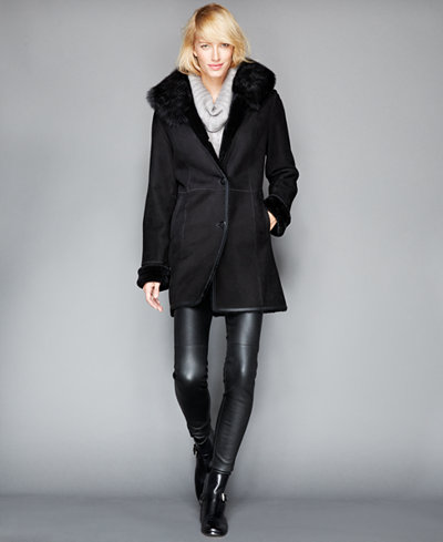 Fur Womens Coats - Macy's