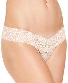 Jenni by Jennifer Moore Lace Thong, Created for Macy's