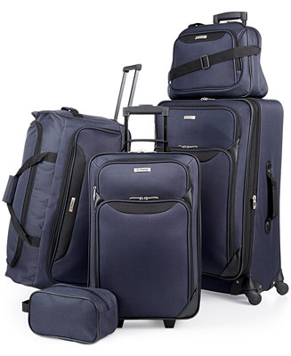 43e5cf184b1 Tag Springfield III 5 Piece Luggage Set, Created for Macy s - Luggage -  Macy s