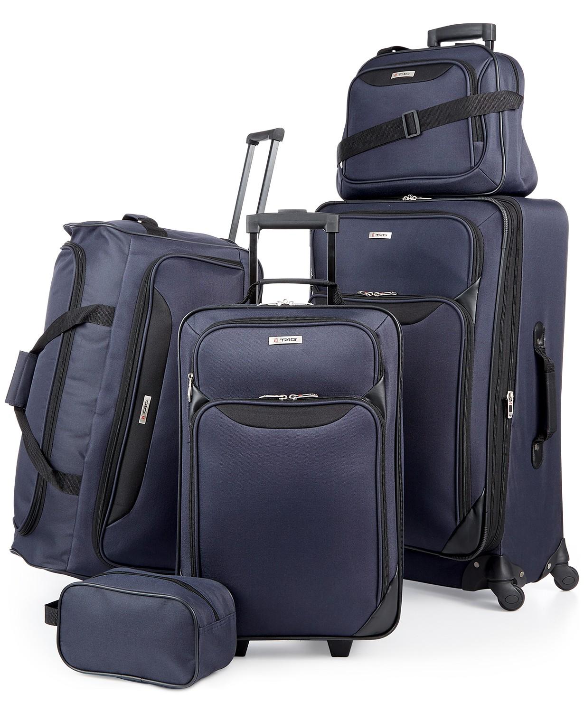 Macy s  70% Off Tag Springfield III 5 Piece Luggage Set - Money ... 09cdaa62d59ed
