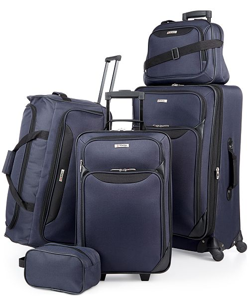 tag springfield iii 5 piece luggage set created for macy s