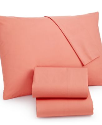 Whim by Martha Stewart Collection Twin XL 3-pc Sheet Set, 100% Cotton Percale, Only at Macy #039;s
