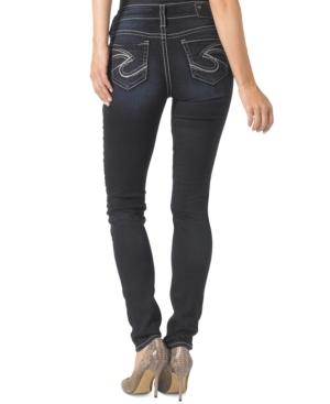 Silver Jeans Suki Dark-Wash Skinny Jeans