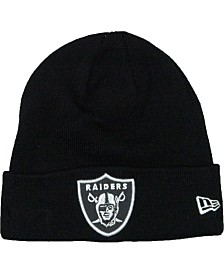 New Era Oakland Raiders Basic Cuff Knit Hat
