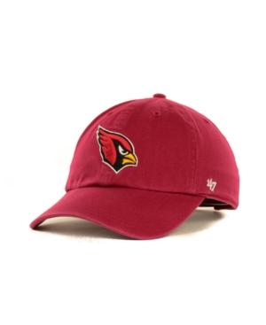 '47 Brand Arizona Cardinals Clean Up Cap Men Activewear - Sports Fan Shop By Lids