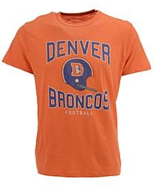 Men's Denver Broncos Retro Logo Scrum T-Shirt