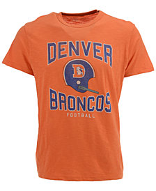 '47 Brand Men's Denver Broncos Retro Logo Scrum T-Shirt