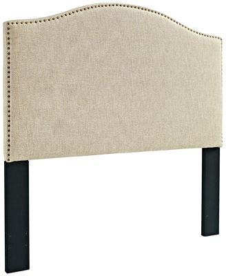 jolie full/queen headboard, quick ship  furniture  macy's, Headboard designs