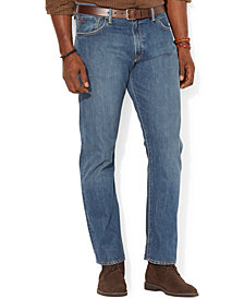 Polo Ralph Lauren Men's Big and Tall Hampton Relaxed Straight Jean