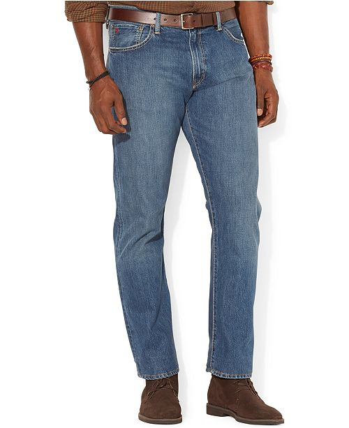 5cf535041 ... Polo Ralph Lauren Men s Big and Tall Hampton Relaxed Straight Jean ...