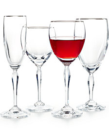 Marquis by Waterford Stemware, Allegra Platinum Collection