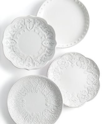 Blanc Set of 4 Assorted Appetizer Plates