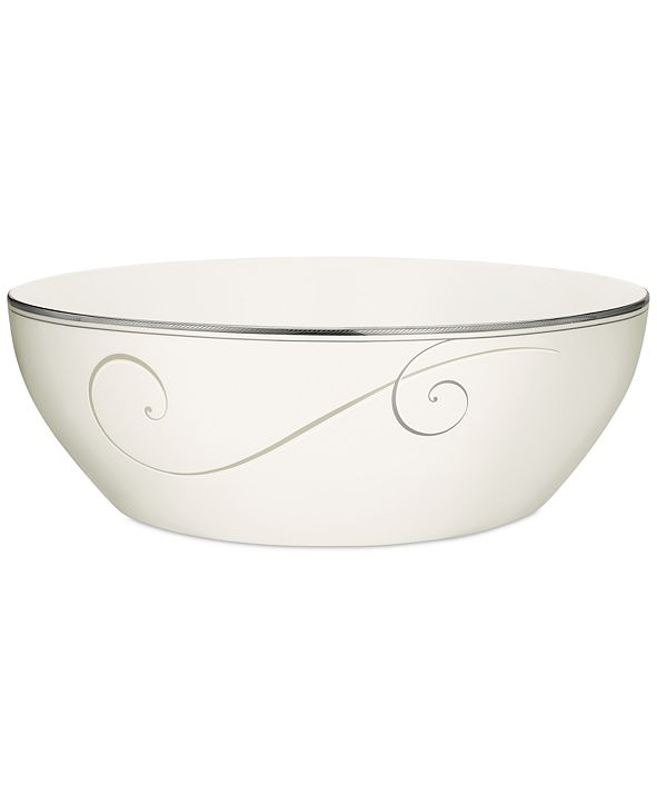 Noritake Dinnerware, Platinum Wave Small Bowl