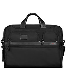 Tumi Alpha 2 Compact Large Screen Laptop Briefcase