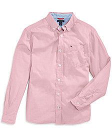 Tommy Hilfiger Classic Woven Shirt, Little Boys