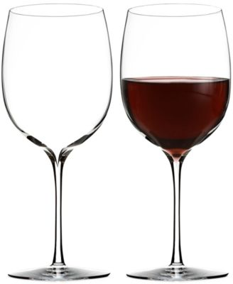 Elegance Bordeaux Wine Glass Pair