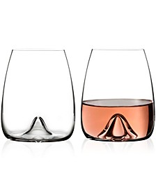 Waterford Stemless Wine Glass Pair