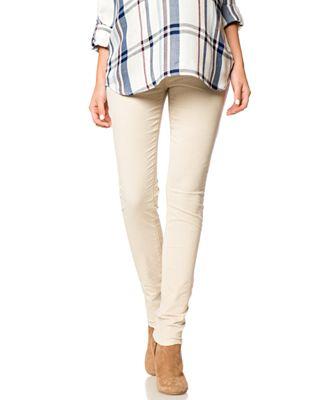 BLANK NYC Maternity Skinny Corduroy Pants - Maternity - Women - Macy's