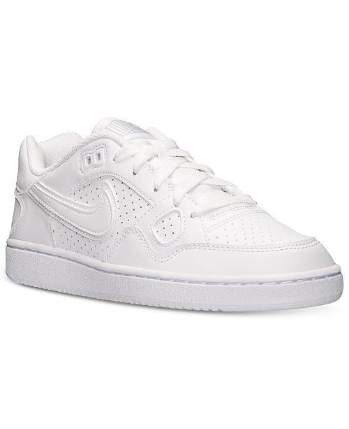 reputable site c93cc ebc1a ... Nike Women s Son Of Force Casual Sneakers from Finish ...