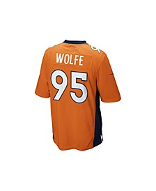 Men's Derek Wolfe Denver Broncos Game Jersey